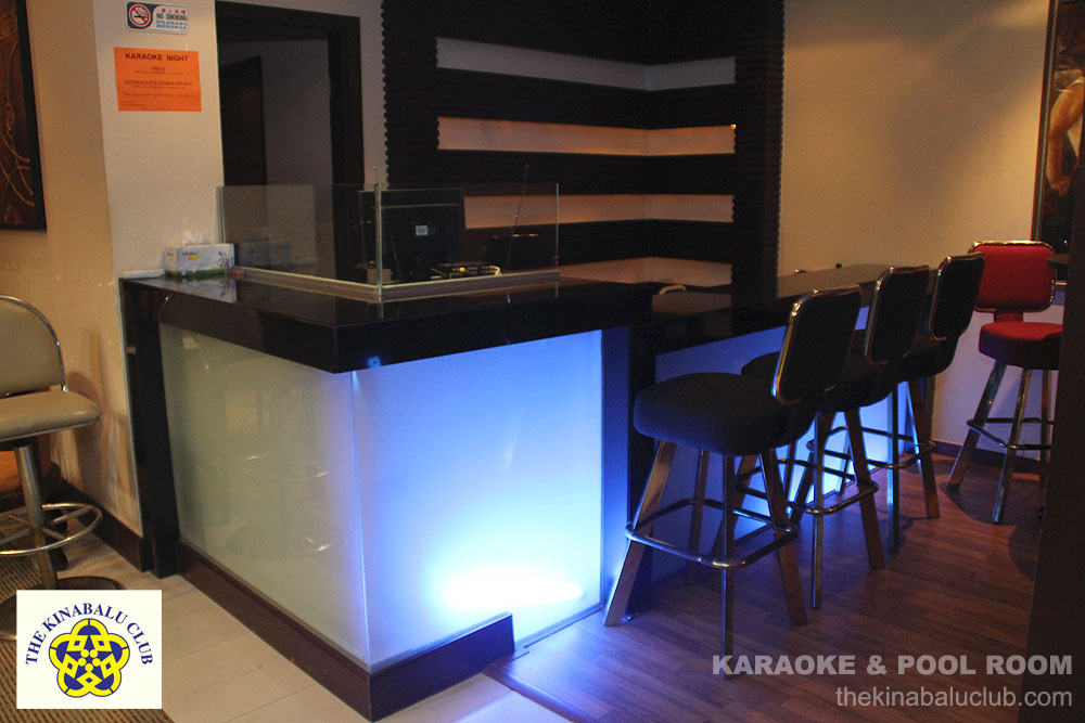 Karaoke & Pool Room | The Kinabalu Club